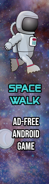 Space Walk: an Ad-free Android game