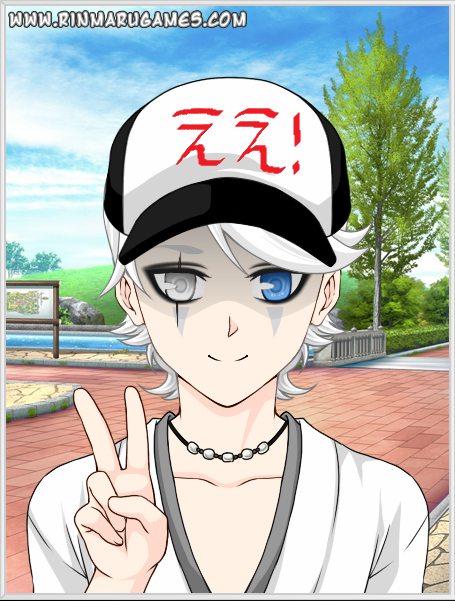 "Tsurara breaks out of his shell for day to enjoy the park. (Inscription on hat reads ""Yeah!"")"