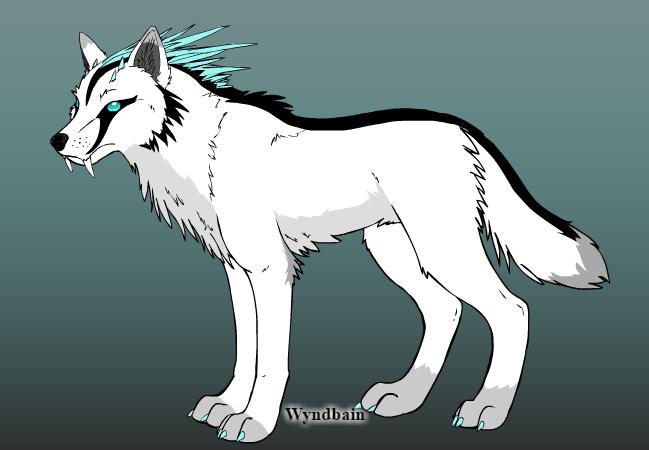 "Tsurara's faithful companion, Elisif. (approximate height: 3' 5"")"