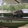 Scott Family Astroglass boat