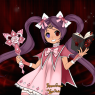 Made in RinmaruGames and VeggieStudios' Anime Halloween Magical Girl dollmaker.