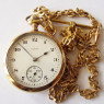 Gold Pocketwatch with Chain