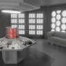 The first incarnation's TARDIS interior