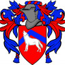 The family coat of arms of Misha, father of Nikolay and Volya.
