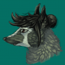 Playing with head shape. How to badger? (by me)