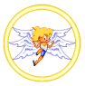 There is no normal image of this last power of his, the Seraphim Mode! This is when he is allowed to use the power of a true Seraphim. Normally he's the lowest order of angel.